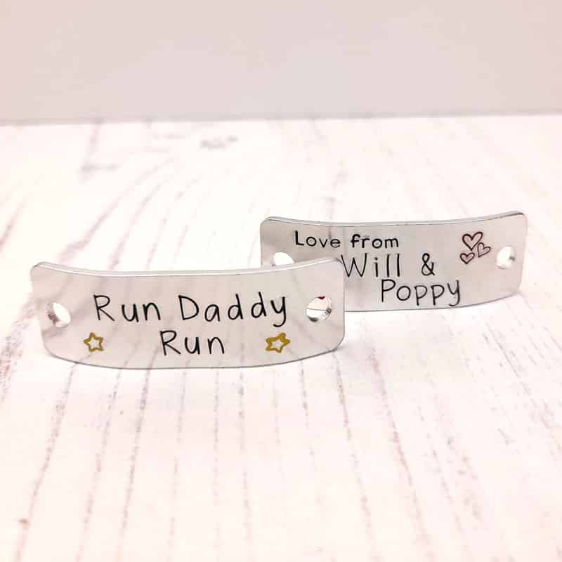 Stamped With Love - Run Daddy Run Trainer Tags