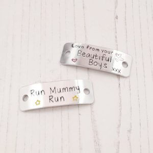 Stamped With Love - Run Mummy Run Trainer Tags