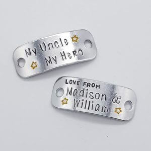 Stamped With Love - My Uncle My Hero Trainer Tags