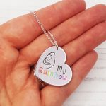 Stamped With Love - My Rainbow Necklace