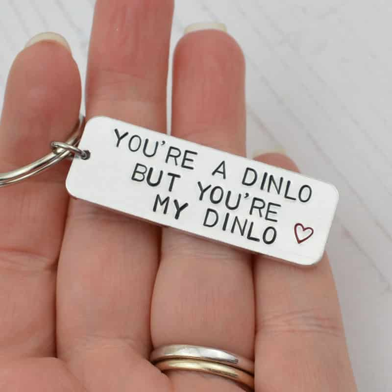 Stamped With Love - You're a Dinlo Keyring