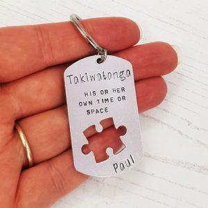 Stamped With Love - Takiwatanga Autism Keyring