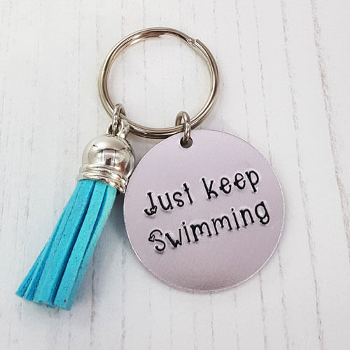 Stamped With Love - Mini Motivation - Just Keep Swimming