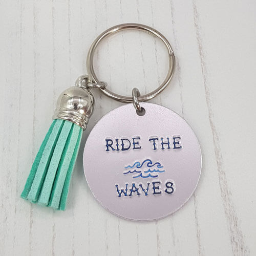 Stamped With Love - Mini Motivation - Ride the Waves