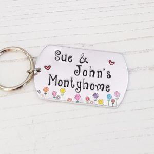 Stamped With Love - Motorhome Keyring