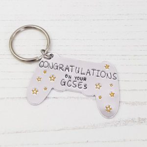 Stamped With Love - Congratulations Game Controller Keyring