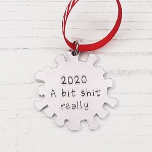 Stamped With Love - 2020 - A Bit Shit Really Christmas Bauble
