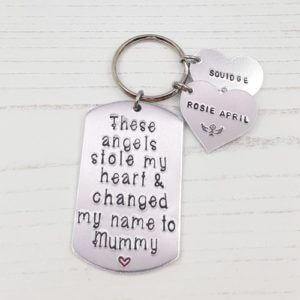 Stamped With Love - Angel(s) Stole My Heart Keyring