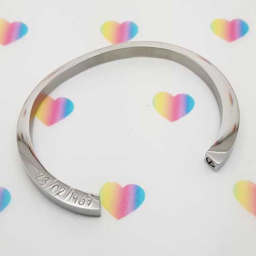 Stamped With Love - Remembrance Urn Bracelet