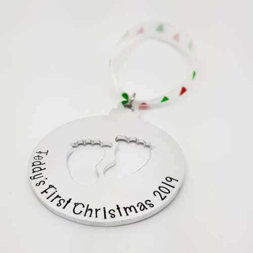 Stamped With Love - First Christmas Bauble