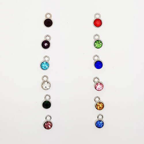 Stamped With Love - Birthstone Charms
