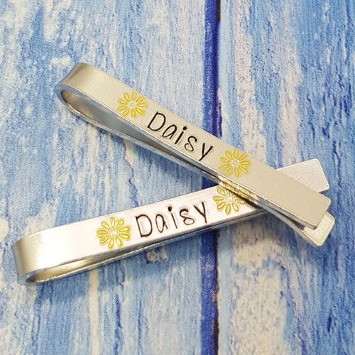 Stamped With Love - Personalised Tie Clip