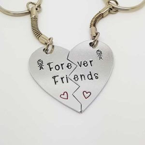 Stamped With Love - Forever Friends Keyrings