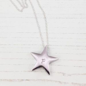 Stamped With Love - Memorial Urn Star Necklace