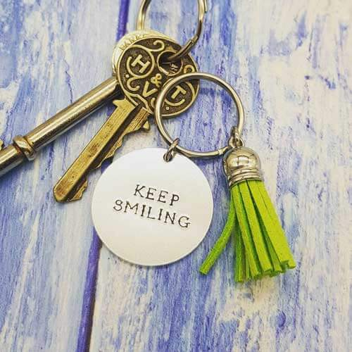 Stamped With Love - Mini Motivation - Keep Smiling