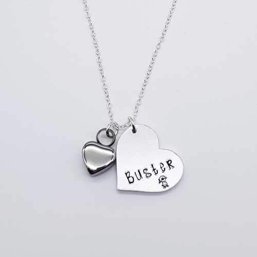 Stamped With Love - Remembrance Heart Necklace