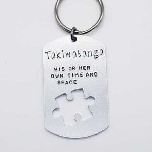 Stamped With Love - Takiwatanga Keyring