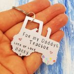 Stamped With Love - Tractor Keyring