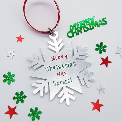 Stamped With Love - Snowflake Bauble