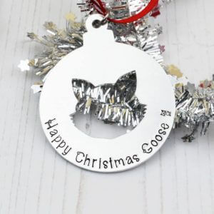 Stamped With Love - Cat Christmas Bauble