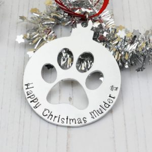 Stamped With Love - Christmas Paw Bauble