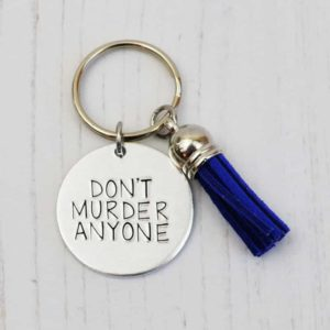 Stamped With Love - Mini Motivation - Don't Murder Anyone