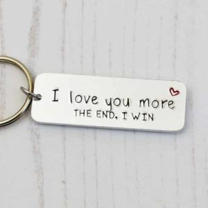 Stamped With Love - I Love You More Keyring