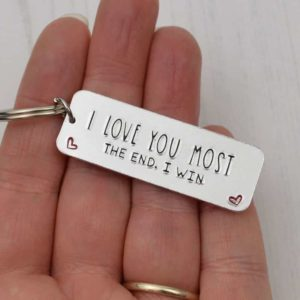 Stamped With Love - I love you Most Keyring