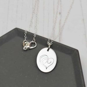 Stamped With Love - New Mummy Necklace