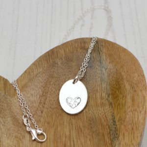Stamped With Love - Love The World Necklace