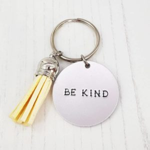 Stamped With Love - Mini Motivation - Be Kind Keyring