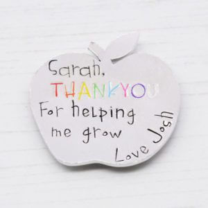 Stamped With Love - Helping Me Grow Apple Magnet