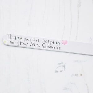 Stamped With Love - Thank You for Helping Me Grow Plant Marker