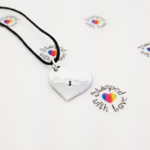 Stamped With Love - Semicolon Cord Necklace