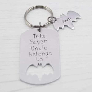 Stamped With Love - Super Uncle belongs to Keyring