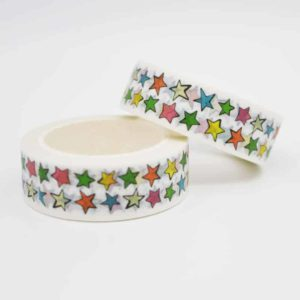 Stamped With Love & Doris and Fred White Star Washi Tape