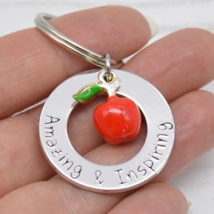 Stamped With Love - Amazing & Inspiring End of Term Keyring