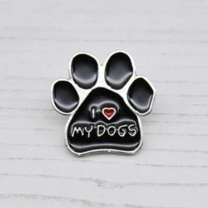 Stamped With Love - I love my Dogs Enamel Pin