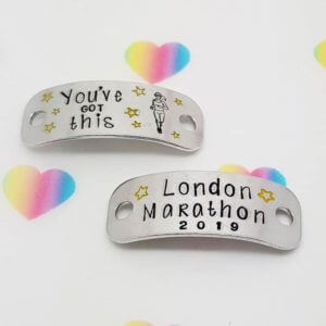 Stamped With Love - London Marathon Trainer Tags
