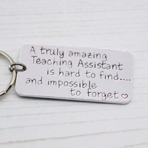 Stamped With Love - Amazing Teaching Assistant Keyring
