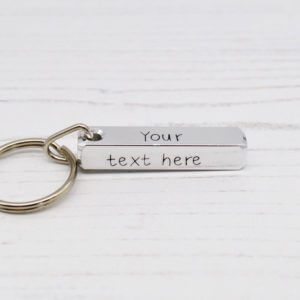 Stamped With Love - Create your own Bar Keyring