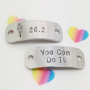 Stamped With Love - 26.2 You Can Do It Marathon Trainer Tags