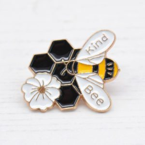 Stamped With Love - Bee Kind Enamel Pin Badge