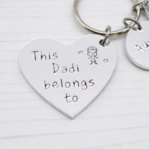 Stamped With Love - This Dadi belongs to Keyring