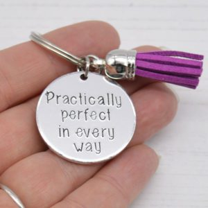 Stamped With Love - Mini Motivation - Practically Perfect Keyring