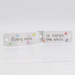 Stamped With Love - Every Mile is Worth the While Trainer Tags