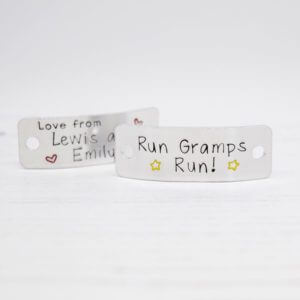 Stamped With Love - Run Gramps Run Trainer Tags