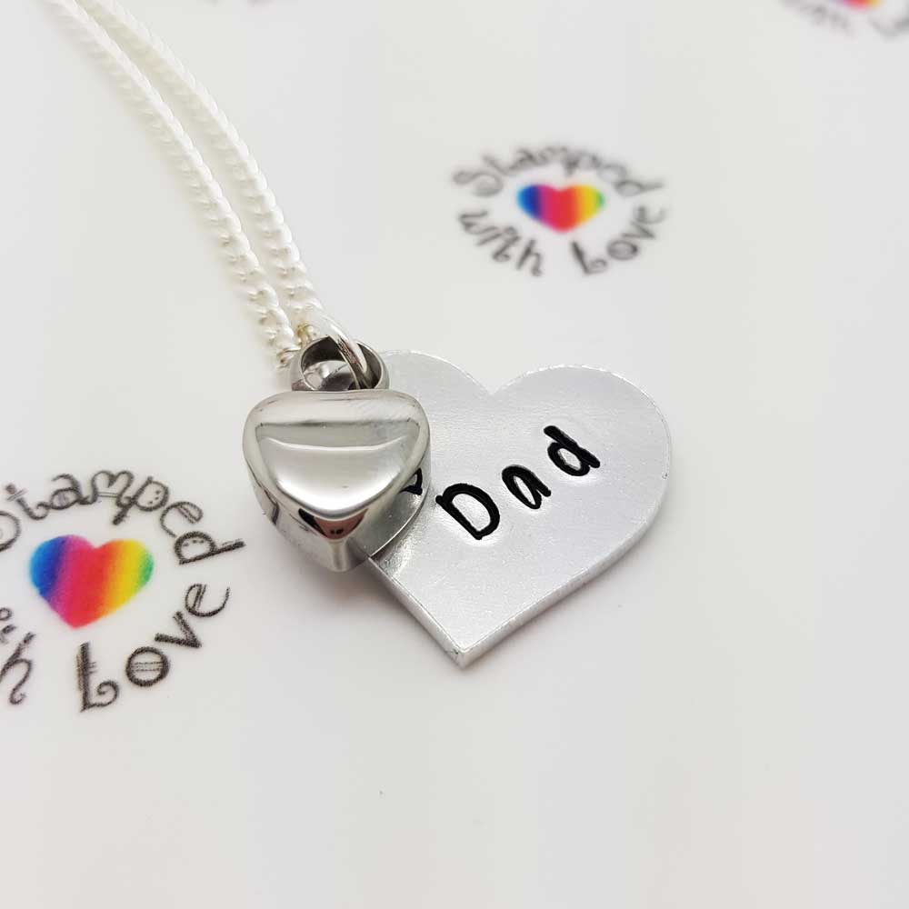 Remembrance Heart Necklace
